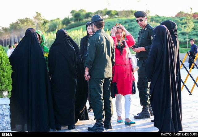 rahafun.com tasavir gshte ershad 5 عکس برخورد با بد حجابی در کنسرت مازیار فلاحی