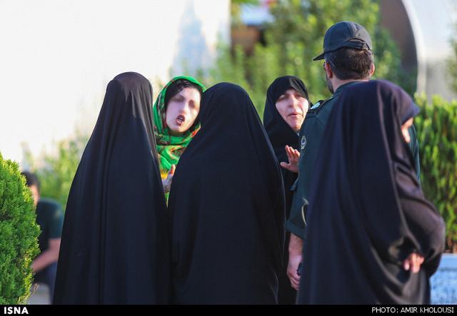 rahafun.com tasavir gshte ershad 6 عکس برخورد با بد حجابی در کنسرت مازیار فلاحی