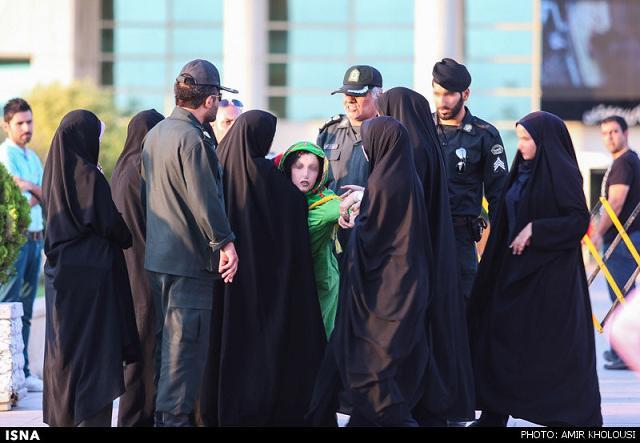 rahafun.com tasavir gshte ershad 9 عکس برخورد با بد حجابی در کنسرت مازیار فلاحی