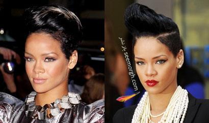 مدل های جدید مو ریحانا Rihanna