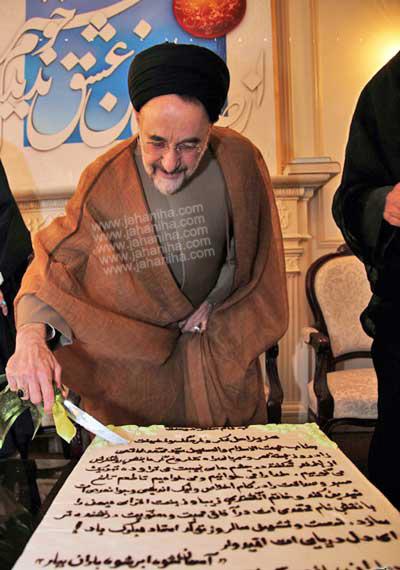 tavlod khatmi www.jahaniha.com 21 عکس کیک جشن تولد خاتمی