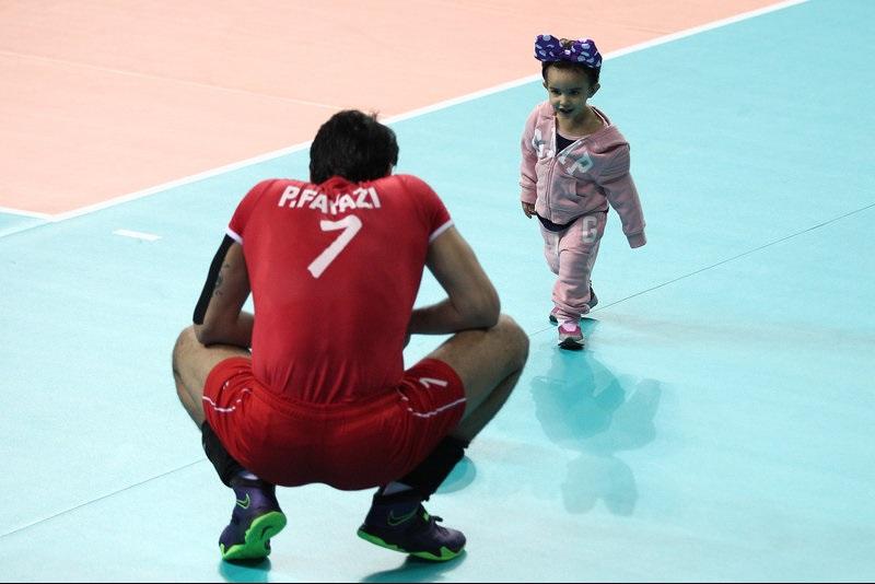 عکس های خانواده والیبالیست ها در اینچئون