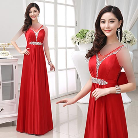 women dress gh0179 مدل های زیبای لباس مجلسی بلند سال 2015