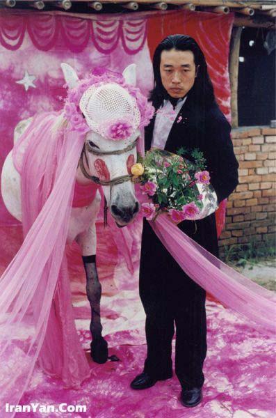عکس عروس و داماد مسخره