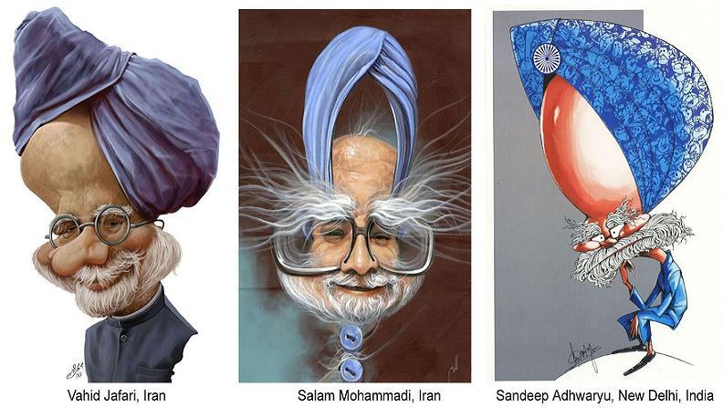 کاریکاتورهای سیاست مداران