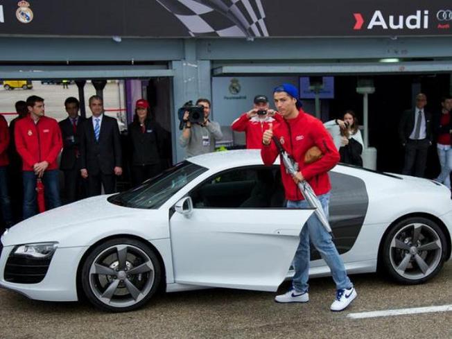 عکس ماشین های کریس رونالدو Cristiano Ronaldo
