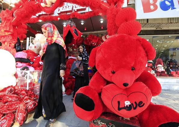 روز ولنتاین در عراق
