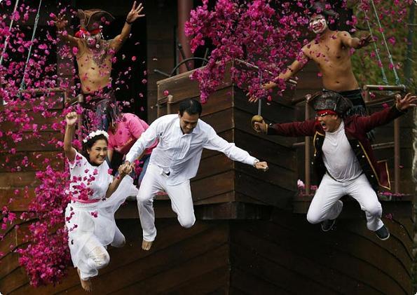 روز ولنتاین در بانکوک تایلند