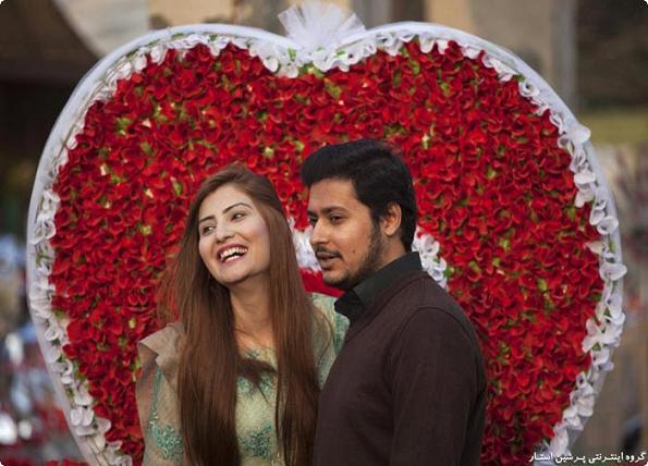روز ولنتاین در اسلام آباد پاکستان