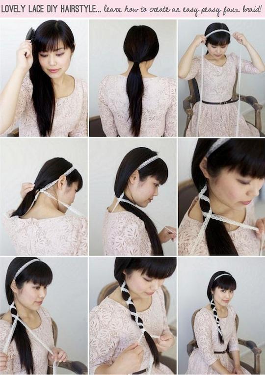 آموزش تصویری بستن مدل مو