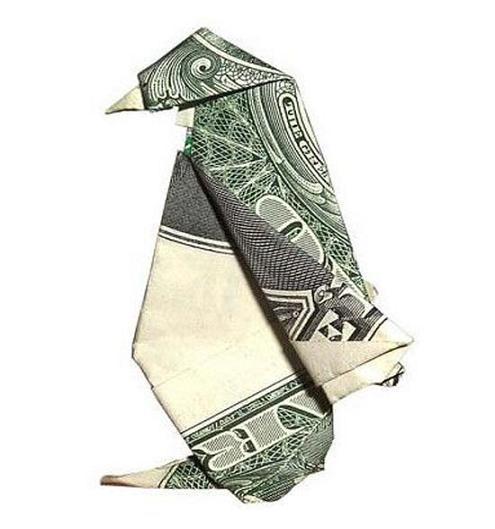 عکس جالب دلار