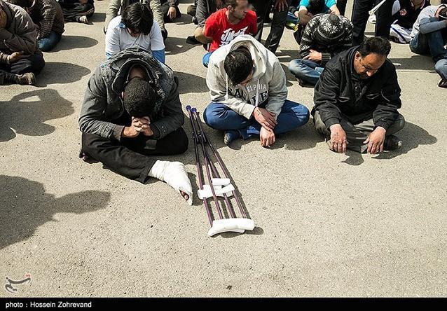 عکس دستگیری خلافکارها