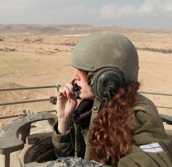 عکس دختران ارتش اسرائیل