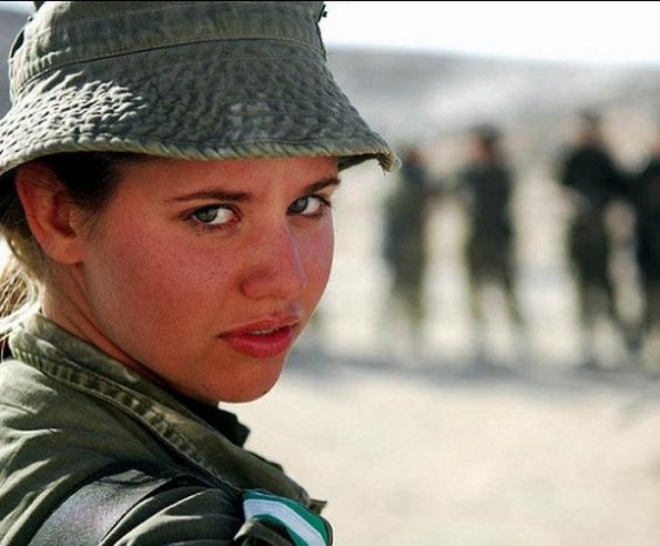 عکسهای جالب دختران ارتش اسرائیل