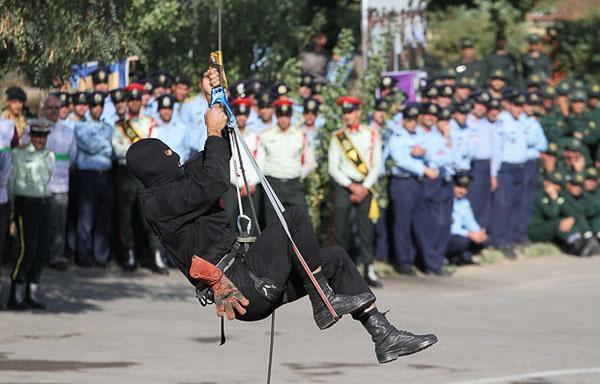 تصاویر رزمایش نیروی انتظامی