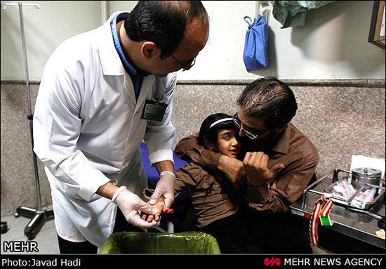 مجروحان چهارشنبه سوری
