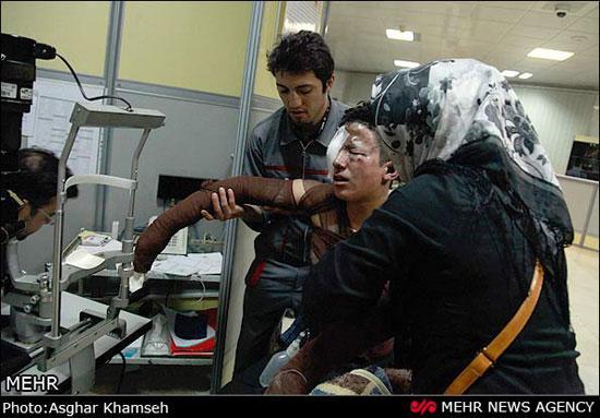 عکس های دلخراش مصدومان چهارشنبه سوری