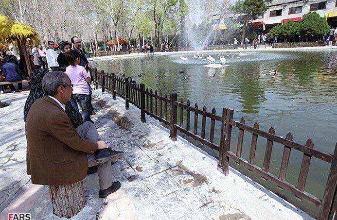 عکسهای دیدنی باغ پرندگان اصفهان