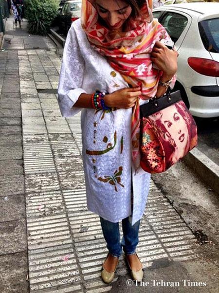 www.rahafun.com bii hejabi dar tehran 10 تصاویر بدحجابی و مدلهای فشن و ساپورتپوش در تهران