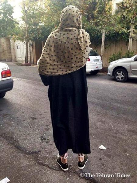 www.rahafun.com bii hejabi dar tehran 2 تصاویر بدحجابی و مدلهای فشن و ساپورتپوش در تهران