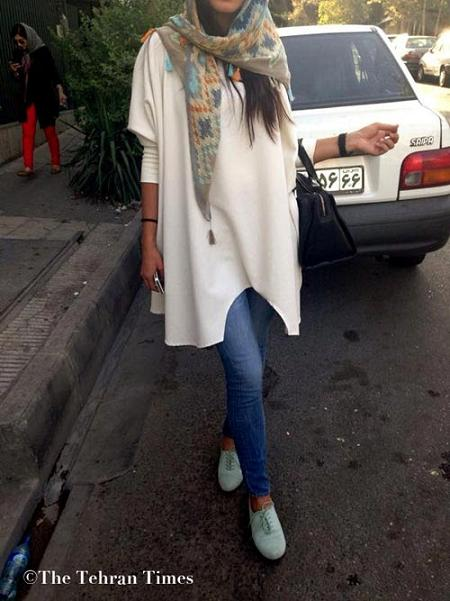 www.rahafun.com bii hejabi dar tehran 7 تصاویر بدحجابی و مدلهای فشن و ساپورتپوش در تهران
