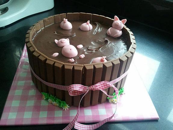 www.rahafun.com creative cakes 12 مدل کیک تولد جالب