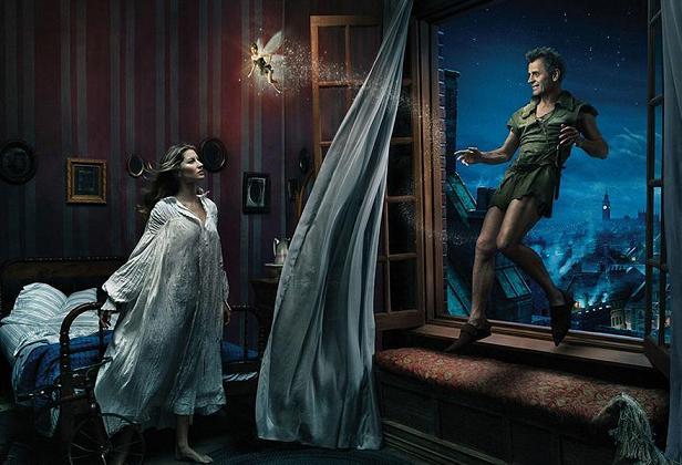 www.rahafun.com disney dream photo manipulation annie leibovitz 10 عکسهای جالب پشت صحنه جلوه های ویژه سینما