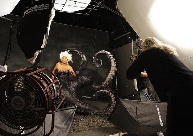 www.rahafun.com disney dream photo manipulation annie leibovitz 5 عکسهای جالب پشت صحنه جلوه های ویژه سینما