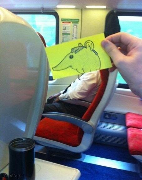 www.rahafun.com ebtekar metro 5 خلاقیت جالب برای وقت گذرانی در مترو