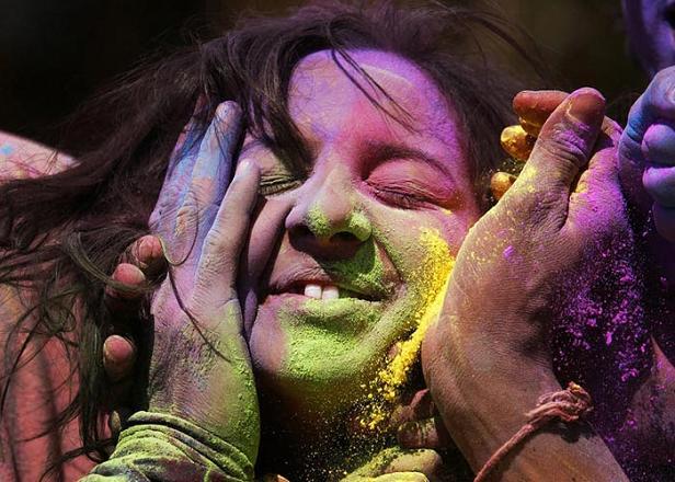 فستیوال رنگ ها در هند