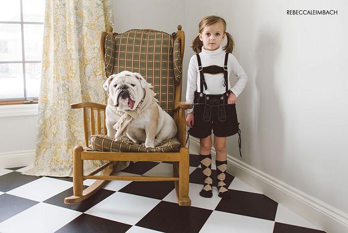 عکس سگ,عکس دختر