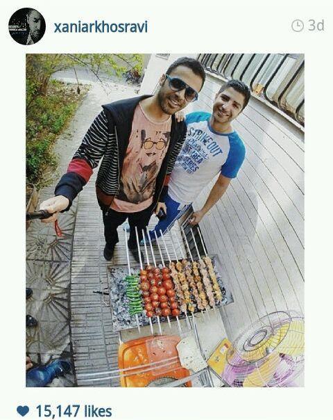 عکس بازیگران در اینستاگرام instagram