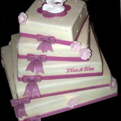 www.rahafun.com model keik aroosi 29 45 مدل کیک عروسی زیبا