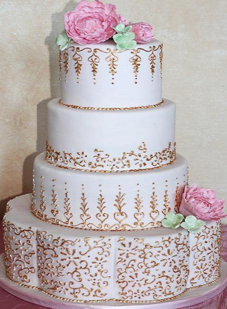 www.rahafun.com model keik aroosi 36 45 مدل کیک عروسی زیبا