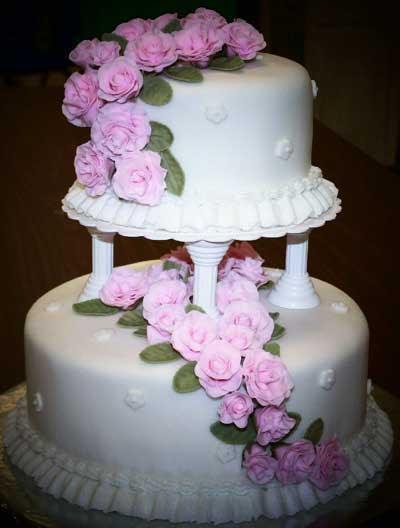 www.rahafun.com model keik aroosi 43 45 مدل کیک عروسی زیبا
