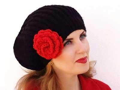 www.rahafun.com model shalo kolahe zemestane 21 مدل شال و کلاه بافتنی دخترانه