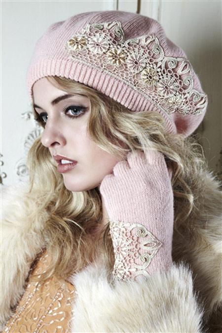 www.rahafun.com model shalo kolahe zemestane 6 مدل شال و کلاه بافتنی دخترانه