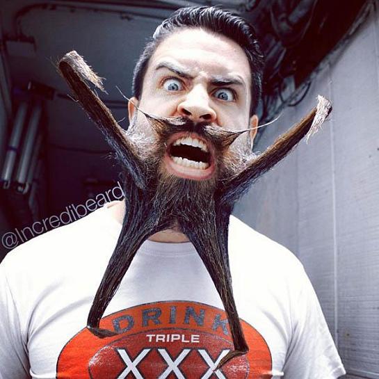 www.rahafun.com mr incredibeard beard styles 14 مدل های عجیب ریش این مرد را دیده اید؟