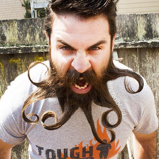 www.rahafun.com mr incredibeard beard styles 7 مدل های عجیب ریش این مرد را دیده اید؟