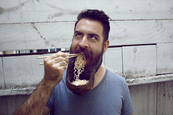 www.rahafun.com mr incredibeard beard styles مدل های عجیب ریش این مرد را دیده اید؟