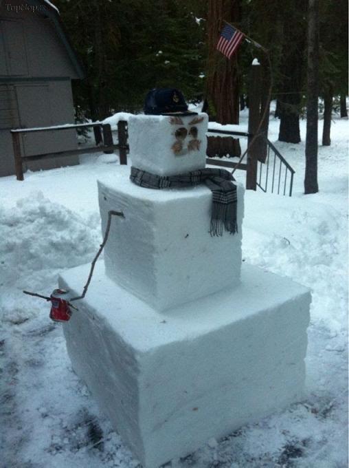 www.rahafun.com pic SNOWMAN  عکس های زیبا آدم برفی