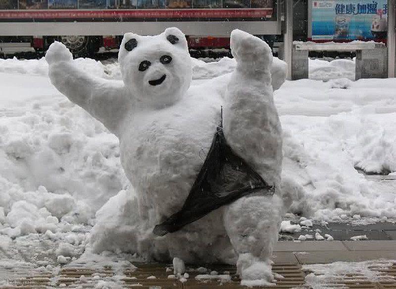 www.rahafun.com pic SNOWMAN 12 عکس های زیبا آدم برفی