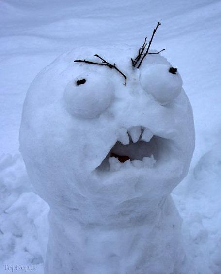 آدم برفی خوشگل