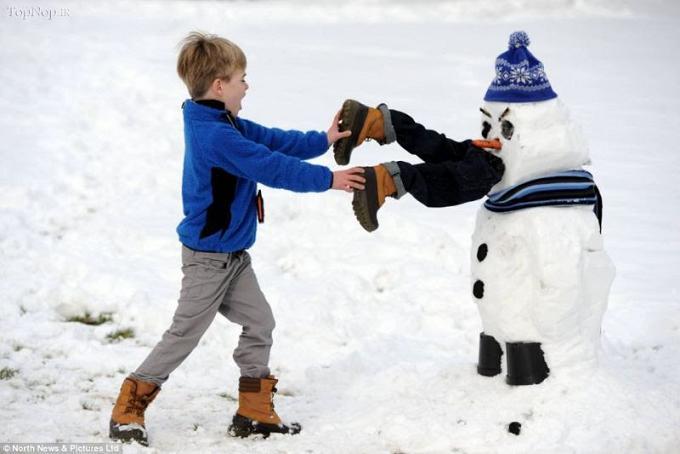 www.rahafun.com pic SNOWMAN 24 عکس های زیبا آدم برفی