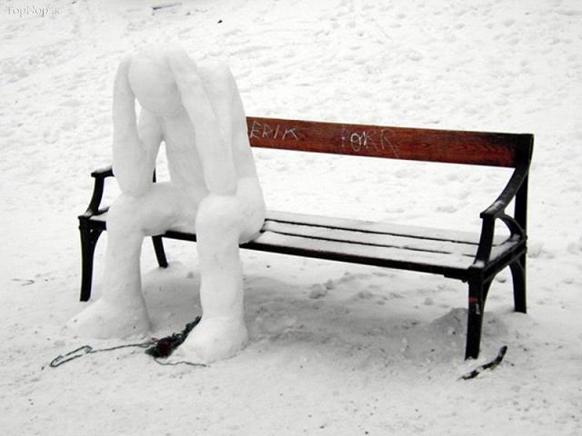 www.rahafun.com pic SNOWMAN 34 عکس های زیبا آدم برفی