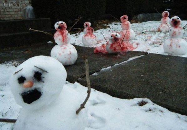 انواع آدم برفی