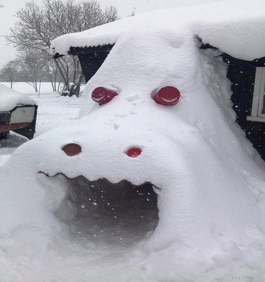 www.rahafun.com pic SNOWMAN 4 عکس های زیبا آدم برفی