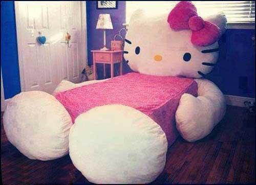 تخت خواب مخصوص دخترها