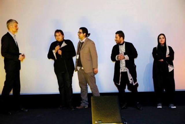 عکسهای باران کوثری در جشنواره برلین