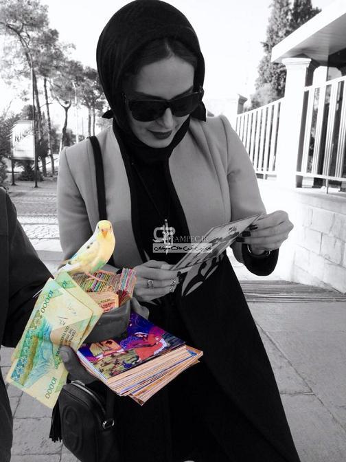 عکس الناز شاکردوست در شیراز